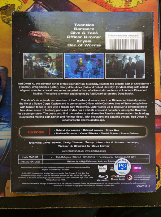 Red Dwarf XI: Bluray/DVD Review | Ganymede & Titan
